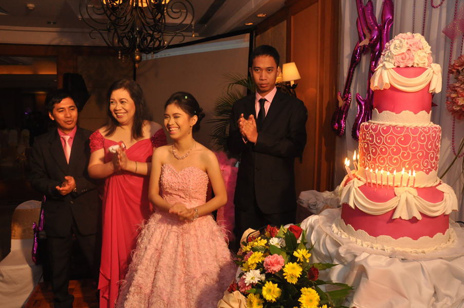 18 candle speech for a debutante | just b.CAUSE