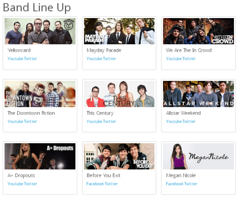 Band Line Up